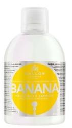 Kallos Banana Shampoo - Szampon bananowy, 1000 ml