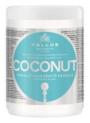 Kallos COCONUT Maska odżywczo-wzmacniająca do włosów 1000ml