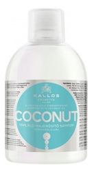 Kallos COCONUT Odżywczo-wzmacniający szampon do włosów z olejkiem koksowym 1000ml