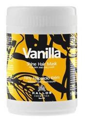 Kallos Professional Vanilla Shine Hair Mask - Nabłyszczająca maska waniliowa do włosów