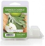 Kringle Country Candle 6 Wax Melts Wosk zapachowy - Crisp Apple& Sage