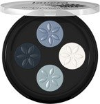 LAVERA Beautiful Mineral Eye Shadow Quattro Zestaw 4 cieni do powiek 07 Blue Platinum