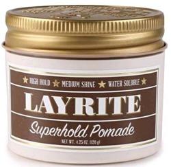 LAYRITE Superhold Pomade Mocna pomada utrwalająca włosy dla mężczyzn 120g