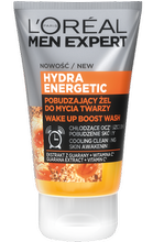 LOREAL MEN HYDRA ENERGETIC Żel do mycia twarzy 100ml