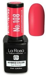 La Rosa Gel Polish Hybrid Color Lakier hybrydowy 108 10ml