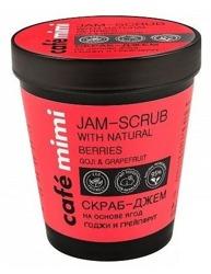 Le Cafe Mimi Jam-scrub Cukrowy scrub do ciała Jagody goji&Grejpfrut  270ml