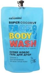 Le Cafe Mimi SUPER COCONUT Żel do mycia twarzy i ciała ZAPAS 450ml