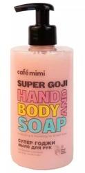 Le Cafe Mimi SUPER GOJI Mydło do rąk i ciała 450ml