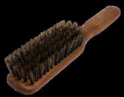 Little Wood Szczotka do włosów ze szczeciny dzika 100% - Orzech