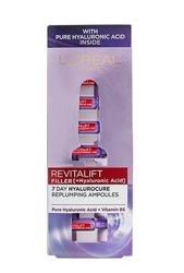 Loreal Revitalift Filler Ampułki z kwasem hialuronowym 40+ 7x1,3ml