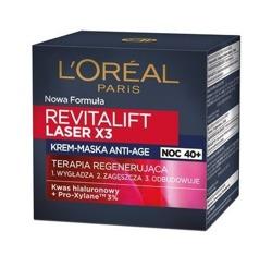 Loreal Revitalift Laser3x Krem-maska anti-age na noc 50ml