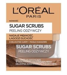 Loreal Sugar Scrubs Peeling odżywczy 50ml