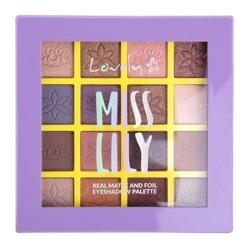 Lovely Miss Lily Eyeshadow Palette Paleta cieni do powiek