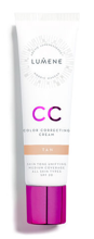 Lumene CC Color Correcting Cream Podkład krem CC Tan 30ml