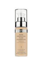 Lumene Nude Perfection Fluid Foundation - Podkład dopasowujący się do skóry 1 Classic Beige, 30 ml