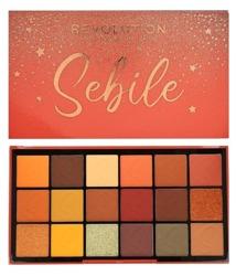 MUR X Sebile DAY 2 DAY Shadow Palette Paleta 18 cieni do powiek