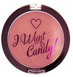 Makeup Revolution I Heart Makeup I Want Candy BlushingRóż do policzków 3g