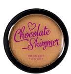 Makeup Revolution  - I heart Makeup  The go Bronzer Chocolate Shimmer - Puder brązujący