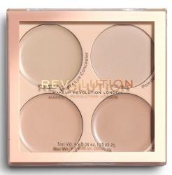 Makeup Revolution Matte Base Concealer Kit C1-C4 Paleta korektorów