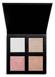 Makeup Revolution PRO 4K Highlighter Palette Paleta rozświetlaczy Rose Gold