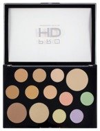 Makeup Revolution Pro HD The Works Palette Light Medium Paleta do konturowania twarzy