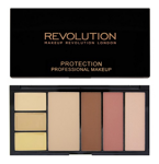 Makeup Revolution Protection Palette Contouring Kit - Paleta do konturowania twarzy Light, 29,7 g