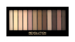 Makeup Revolution Redemption Palette Paleta 12 cieni do powiek Essential Mattes 2