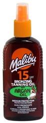 Malibu 15SPF Bronzing Tanning Oil Argan Oil Olejek brązujący do opalania 200ml