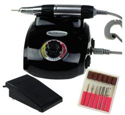 Manicure NAIL MASTER DM208 Profesjonalna frezarka kosmetyczna 35W Czarna