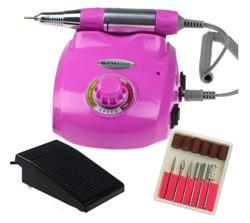 Manicure NAIL MASTER DM208 Profesjonalna frezarka kosmetyczna 35W Różowa