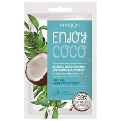 Marion ENJOY COCO Zabieg olejowania włosów na ciepło 20ml