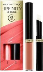 Max Factor Lipfinity Lip Colour Pomadka do ust + Baza nabłyszczająca 010