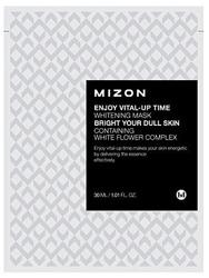 Mizon Enjoy Vital-Up Time Whitening Mask  - Maseczka wybielająca 30ml