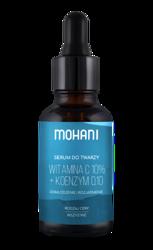 Mohani Odmładzająco-rozjaśniające serum do twarzy z 10% witaminą C i koenzymem Q10 30ml