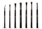 NANSHY Eye Brush Set Onyx Black 7 pędzli