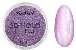 NEONAIL 3D Holo Effect Pyłek do paznokci No.01  2g
