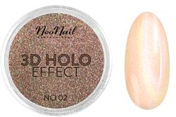 NEONAIL 3D Holo Effect Pyłek do paznokci No.02  2g