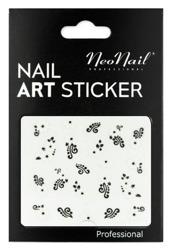 NEONAIL Naklejki na paznokcie Black&white  2804-02