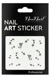 NEONAIL Naklejki na paznokcie Black&white  2804-30