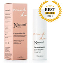 Nacomi Next Level Second Skin Ceramides 5% Serum do twarzy z ceramidami 5% 30ml