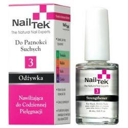 Nail Tek Protection Plus III - Nawilżająca odżywka  do suchych i kruchych paznokci