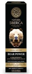 Natura Siberica Men - Krem przeciwzmarszczkowy dla mężczyzn Siła niedźwiedzia 50ml