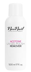 Neonail Acetone UV Gel Polish Remover Płyn do usuwania hybryd 500ml