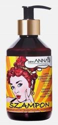 New ANNA RETRO Szampon do włosów z naftą kosmetyczną, ekstraktami z jajka, cytryny i drożdży 300ml