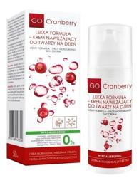 Nova Kosmetyki GoCranberry Lekki krem nawilżający do twarzy na dzień 50ml