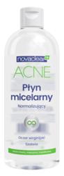 NovaClear Acne Skin Płyn micelarny normalizujący Oczar i Szałwia 400ml