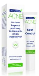 NovaClear Acne Spot Control Preparat punktowy do osuszania zmian trądzikowych 10ml