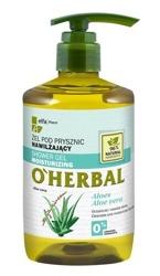 O'Herbal Nawilżający żel pod prysznic z ekstraktem z aloesu 750ml