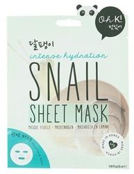 Oh K! Intense hydration Snail Sheet Mask - Maska w płachcie intensywnie nawilżająca 25ml