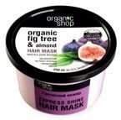 Organic Shop - Maska do włosów Grecka Figa i Olej Migdałowy 250 ml